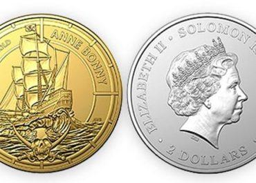Австралия выпустила инвестиционные монеты посвященные пиратам